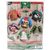 Picture of Ugly Sweater Ornaments Felt Applique Kit-6/Pkg