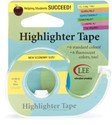 "Picture of Lee Products Fluorescent Highlighter Tape .5""X720""-Blue"