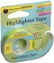 "Picture of Lee Products Crafter's Easy See Removable Tape .5""X720""-Yellow"