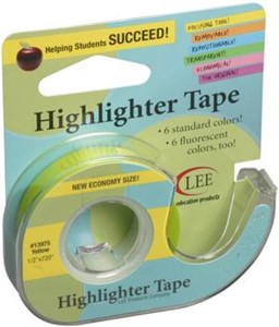 "Picture of Lee Products Crafter's Easy See Removable Tape .5""X720"""