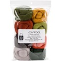 "Picture of Wistyria Editions Wool Roving 12"" .25oz 8/Pkg-Pumpkin Patch"