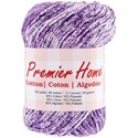Picture of Premier Yarns Home Cotton Yarn - Multi-Violet Splash