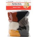 Picture of Colonial Paint Box Wools .33oz 6/Pkg-Nature-Bge/Ecru/Gry/Brn/Wht/Blk