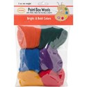 Picture of Colonial Paint Box Wools .33oz 6/Pkg-Bright & Bold -Rd/Gld/Grn/Roy/Pur/Orn