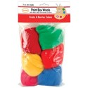 Picture of Colonial Paint Box Wools .33oz 6/Pkg-Fruits & Berries -Rd/Grn/Yel/Rd/Pk/Bl