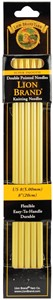 "Picture of Lion Brand Double Point Knitting Needles 8"" 5/Pkg-Size 8/5mm"