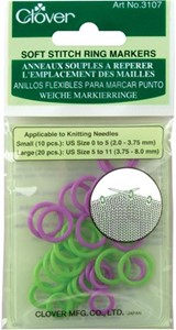 Picture of Soft Stitch Ring Markers-30/Pkg