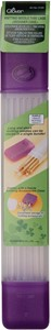 "Picture of Clover Knitting Needle Tube Case-16""X2.25""X1.5"" Purple"