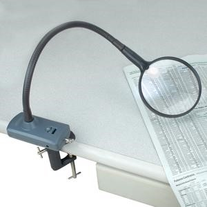 Picture of Carson MagniFlex Flexible Arm Lighted Hands-Free Magnifier-