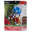 "Picture of Bucilla Felt Stocking Applique Kit 18"" Long-Holiday Drive"