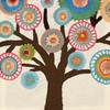 "Picture of Dimensions Crewel Embroidery Kit 10""X10""-Handmade Collection Tree-Stitched /Wool"