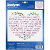 "Picture of Janlynn Stamped Cross Stitch Kit 12""X10""-Love Is Patient"