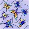 "Picture of RIOLIS Cushion Stamped Cross Stitch Kit 13""X13""-Butterflies (10 Count)"