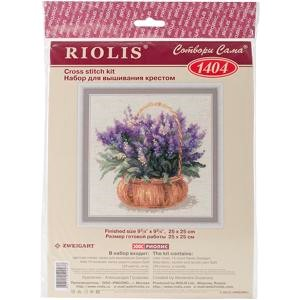 "Picture of RIOLIS Counted Cross Stitch Kit 9.75""X9.75""-French Lavender (14 Count)"