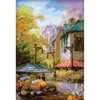 "Picture of RIOLIS Counted Cross Stitch Kit 10.25""X15""-Flower Street (14 Count)"