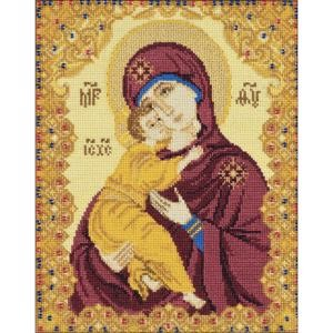 "Picture of RIOLIS Counted Cross Stitch Kit 5""X6.25""-Our Lady Of Vladimir (25 Count)"