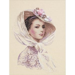 "Picture of RIOLIS Counted Cross Stitch Kit 11.75""X15.75""-Lilac Evening (14 Count)"