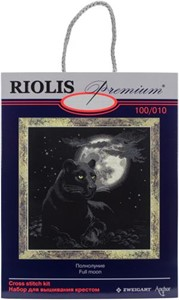 "Picture of RIOLIS Counted Cross Stitch Kit 19""X19""-Full Moon (14 Count)"