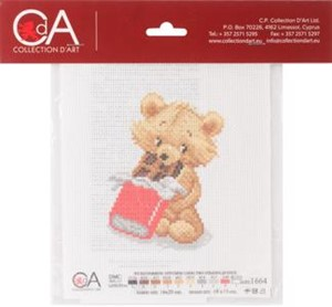 Picture of Collection D'Art Stamped Cross Stitch Kit 16X20cm-Sweet-Tooth