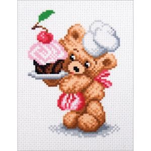 Picture of Collection D'Art Stamped Cross Stitch Kit 16X20cm-Confectioner