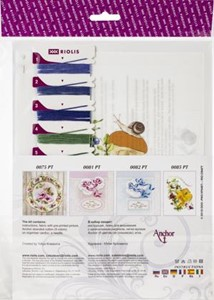 "Picture of RIOLIS Satin Stitch Kit 5""X6.25""-Birch Bolete"