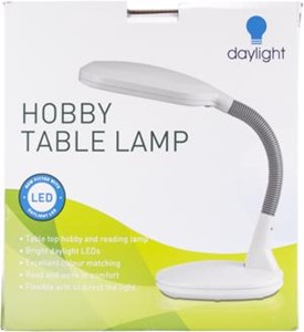 Picture of Daylight Hobby & Reading LED Table Lamp-White