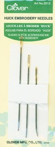 Picture of Clover Huck Embroidery Needles-Assorted 3/Pkg