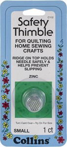 Picture of Collins Zinc Safety Thimble-Small