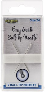 Picture of Sullivan's Easy Guide Ball-Tip Needles 2/Pkg-Size 24 (40mm)