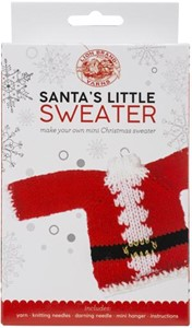 Picture of Lion Brand Yarn Santa's Little Sweaters Kit