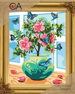Picture of Collection D'Art Needlepoint Printed Tapestry Canvas 30X40cm-Romance
