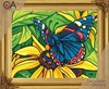 Picture of Collection D'Art Needlepoint Printed Tapestry Canvas 30X40cm-Butterfly