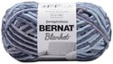 Picture of Bernat Blanket Big Ball Yarn-Mineral Blue