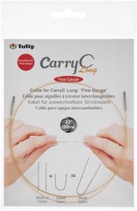 Picture of Tulip Carry C Intchg Cords For Long Fine Gauge Bamboo Needle-32""