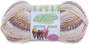 Picture of Lion Brand Ice Cream Cotton Blend Yarn