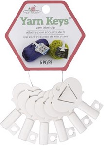 Picture of The Yarn Valet Yarn Keys 6/Pkg-